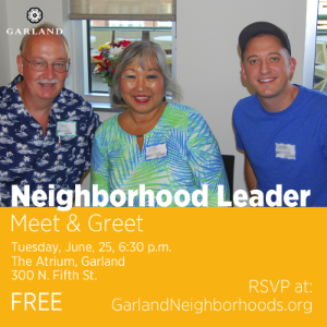 June Neighborhood Leader 2019