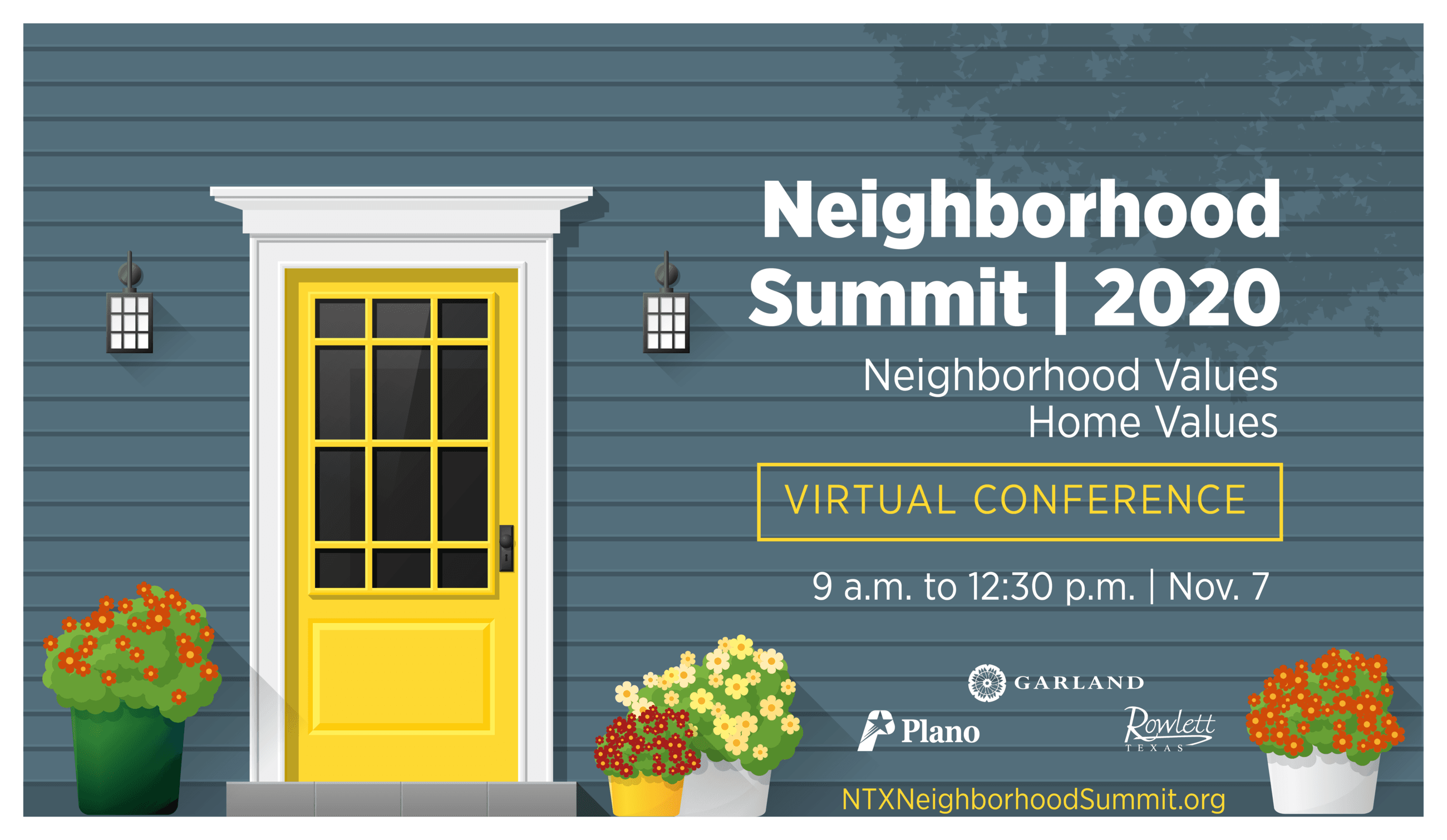 Neighborhood Summit | 2020 | Neighborhood Values, Home Values | Virtual Conference
