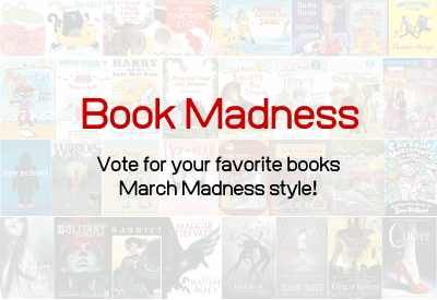 Book jackets for all the books in the full voting bracket